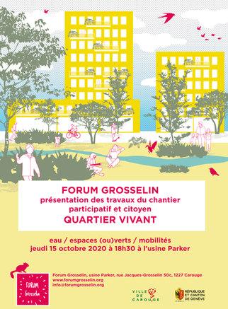 Forum Grosselin - Affiche quartier Vivan