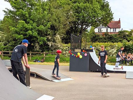 Milkshakes at the Skate Park