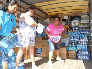 Bahamians unite to help hurricane victims