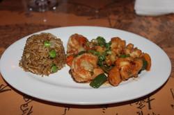 lobester shrimp garlic sauce