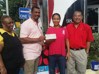 New Oriental supports Breast Cancer Fundraiser