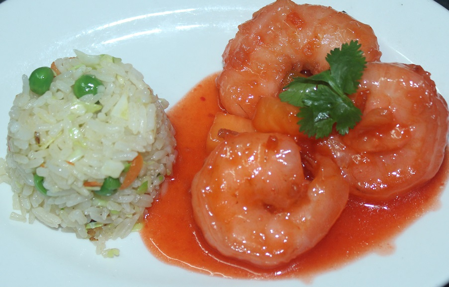 sweet n sour shrimp