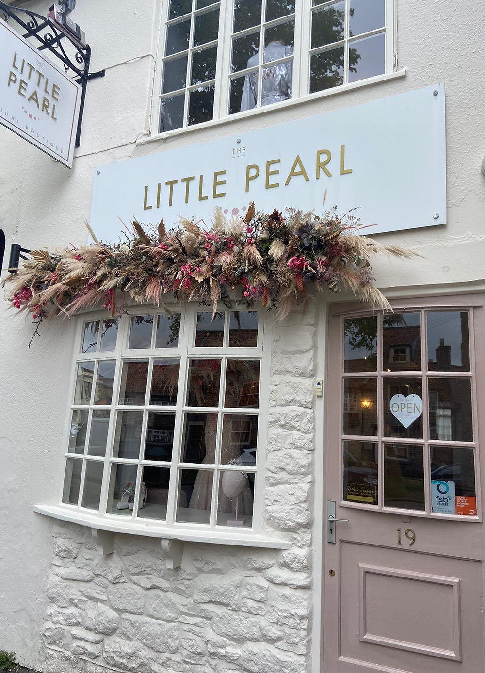 The Little Pearl Bridal Boutique in Pickering, North Yorkshire.Top tips on who to invite wedding dress shopping.
