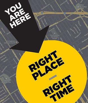 אתם במקום הנכון ובזמן הנכון