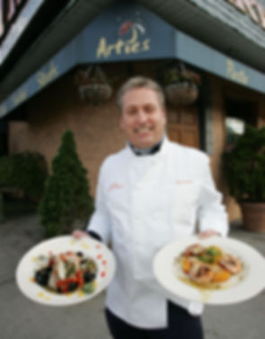 Arties Steak & Seafood_Owner Spiros Chag