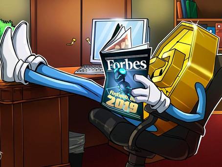 """Forbes """"Fintech 50"""" 2019"""