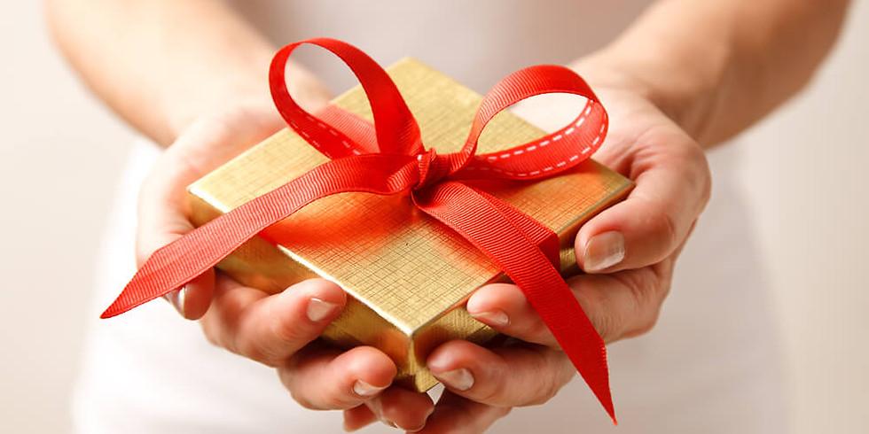 """Meet-up """"Подарочные карты и электронные сертификаты"""""""