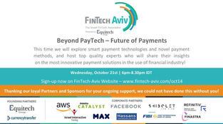 Watch FinTech-Aviv's Online PayTech Event