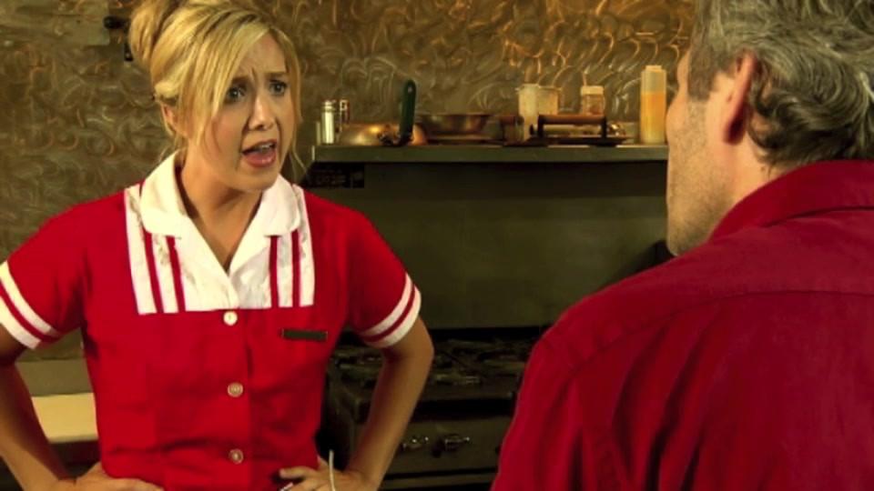 DaNae West.Diner Waitress .m4v