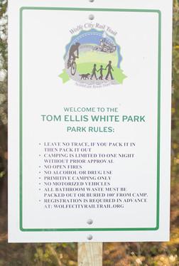 Ellis White Park, Wolfe City Rail Trail_