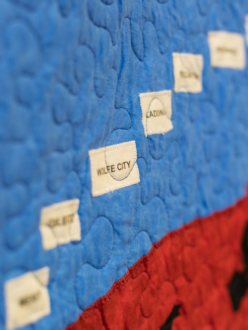 Wolfe City Rail Trail Quilt