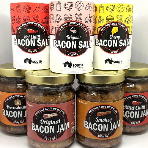 Bacon Jam and Bacon Salt Pack