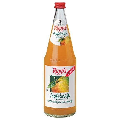 Rapp's Apfelsaft naturtrüb 6 x 1 Liter (Glas)