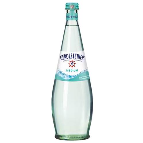 Gerolsteiner Gourmet Medium 12 x 0,75 Liter (Glas)
