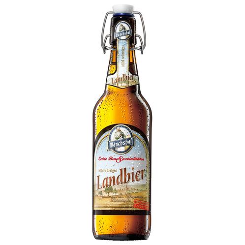 Mönchshof Landbier Bügelflasche 20 x 0,5 Liter (Glas)