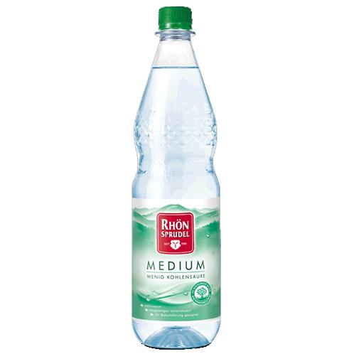 RhönSprudel Medium 12 x 1 Liter (PET)