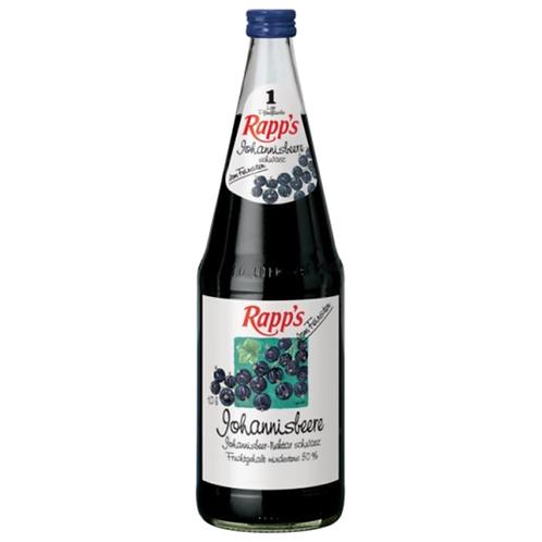 Rapp's Johannisbeere 6 x 1 Liter (Glas)