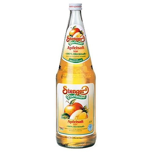 Stenger Apfelsaft klar 12 x 0,2 Liter (Glas)
