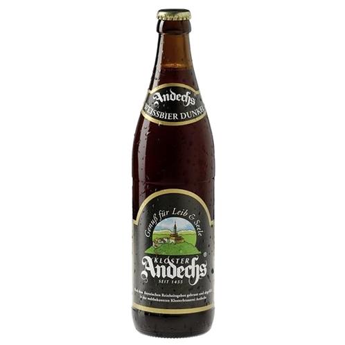 Andechser Weissbier dunkel 20 x 0,5 Liter (Glas)