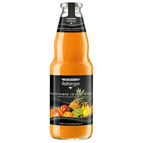 Niehoffs Vaihinger Multivitamin 10 Fruchtsaft 6 x 1 Liter (Glas)