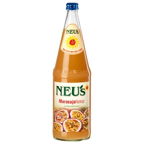 Neu's Maracuja-Nektar 6 X 1 Liter (Glas)