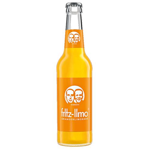Fritz-Limo Orangelimonade 24 x 0,33 Liter (Glas)