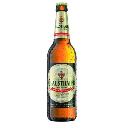 Clausthaler Extra herb 20 x 0,5 Liter (Glas)