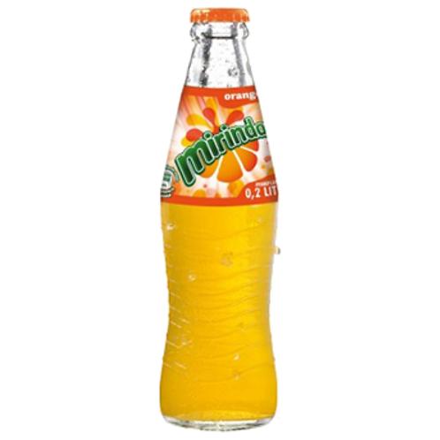 Mirinda Orange 24 x 0,33 Liter (Glas)