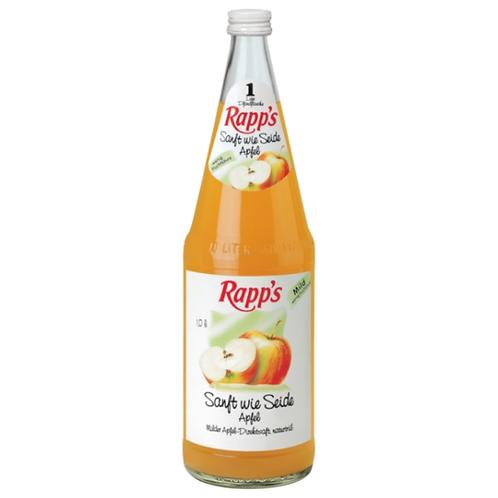 Rapp's Sanft wie Seide Apfel 6 x 1 Liter (Glas)