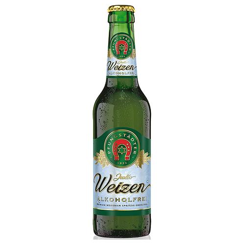 Pfungstädter Justus Weizen Alkoholfrei 20 x 0,5 Liter (Glas)