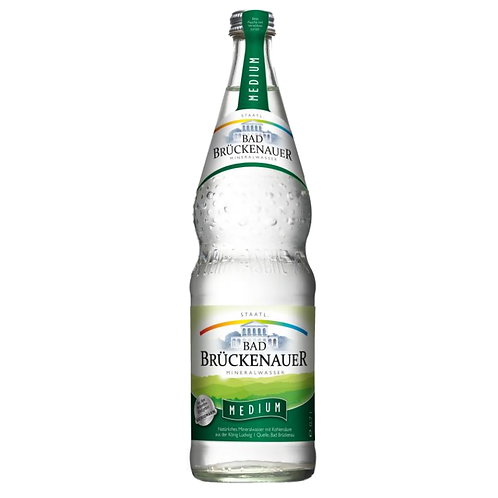 Bad Brückenauer Medium 12 x 0,7 Liter (Glas)