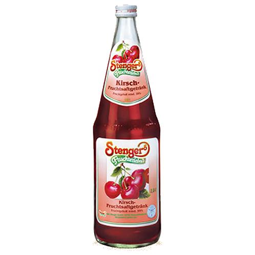 Stenger Kirsch-Fruchtsaftgetränk 6 x 1 Liter (Glas)