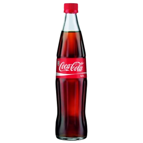 Coca Cola 20 x 0,5 Liter (Glas)