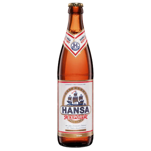 Hansa Export 20 x 0,5 Liter (Glas)
