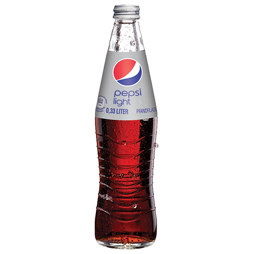 Pepsi light 24 x 0,33 Liter (Glas)