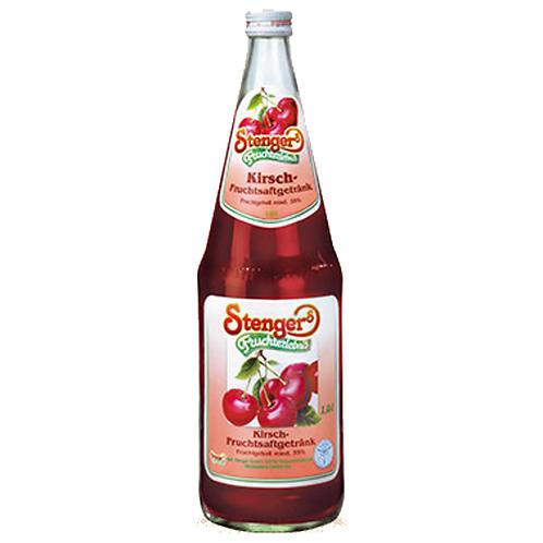 Stenger Kirsch-Fruchtsaftgetränk 12 x 0,2 Liter (Glas)