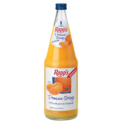 Rapp's Premium Orange 6 x 1 Liter (Glas)