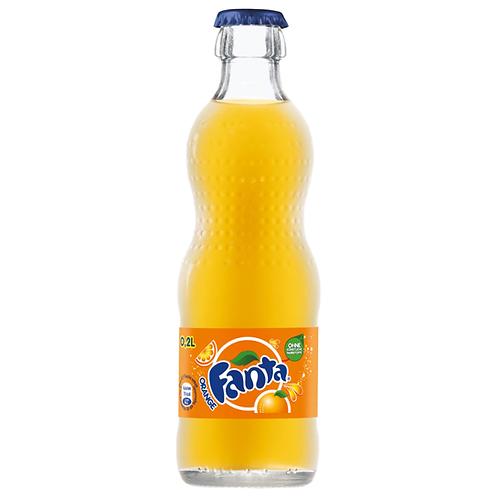 Fanta Orange 24 x 0,33 Liter (Glas)