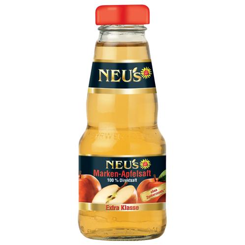 Neu's Apfelsaft 12 X 0,2l Liter ( Glas )
