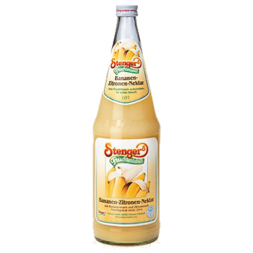Stenger Bananen-Nektar 12x 0,2 Liter (Glas)