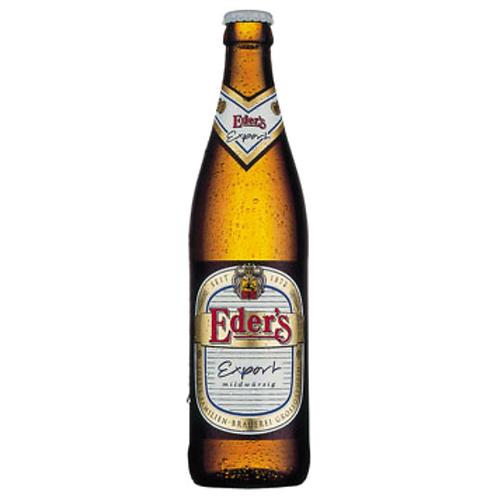Eder's Export 20 x 0,5 Liter (Glas)