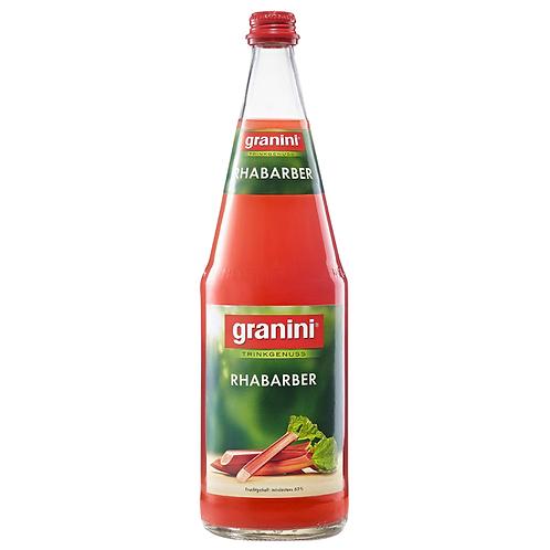 Granini Trinkgenuss Rhabarber 6 x 1 Liter (Glas)
