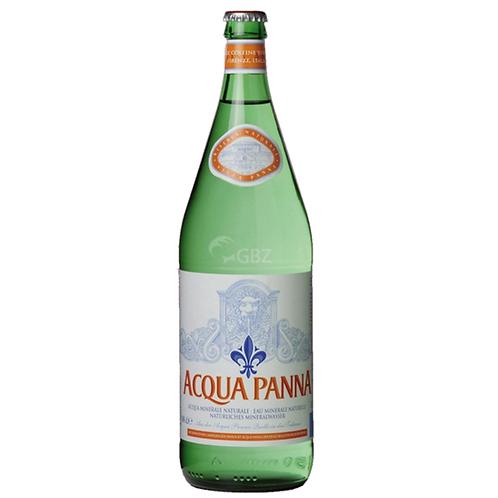 San Pellegrino Acqua Panna Mineralwasser Still 12 x 1 Liter (Glas)