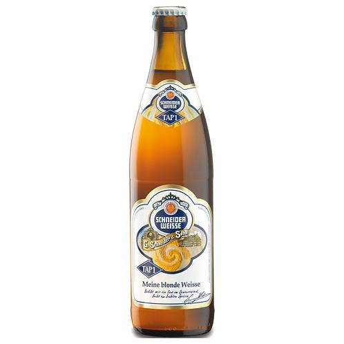 """Schneider TAP1 """"Meine helle Weisse"""" 20 x 0,5 Liter (Glas)"""