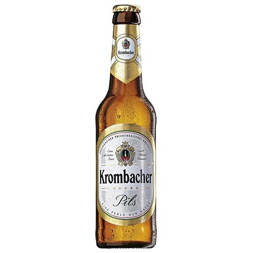 Krombacher Pils 4x 6er-Pack 24 x 0,33 Liter (Glas)