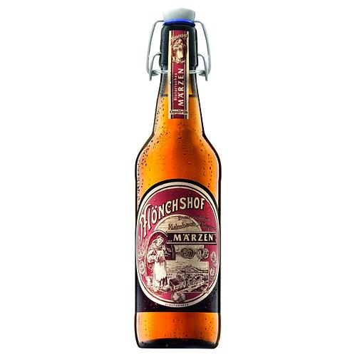 Mönchshof Märzen Bier Bügelflasche 20 x 0,5 Liter (Glas)