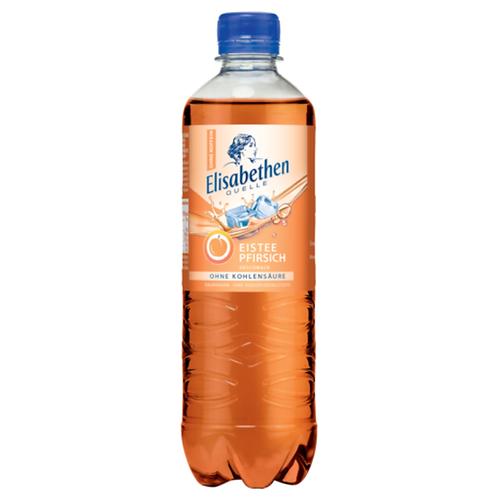 Elisabethen Quelle Eistee Pfirsich 11 x 0,5 Liter (PET)