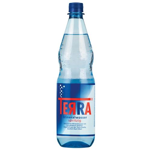 Terra Mineralwasser Spritzig 12 x 1 Liter (PET)