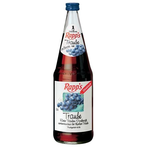 Rapp's Traube 6 x 1 Liter (Glas)
