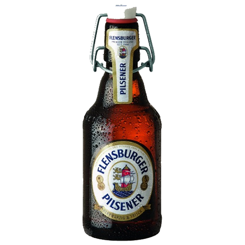 Flensburger Pilsener Bügelflasche 16 x 0,5 Liter (Glas)